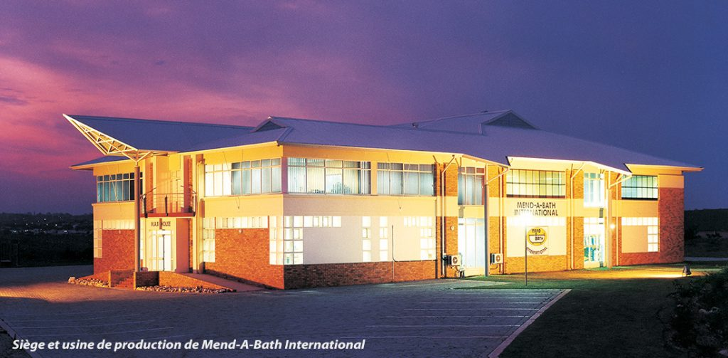 Bureau de fabrication des produits de rénovation pour baignoire en Afrique du Sud